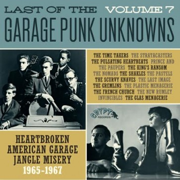 VARIOUS - Last Of The Garage Punk Unknows 7 LP