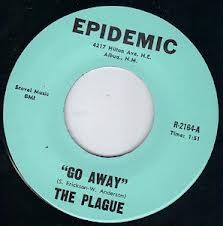"PLAGUE ""Go Away"" 7"""