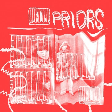 """PRIORS """"Call For You"""" EP ( RED vinyl)"""