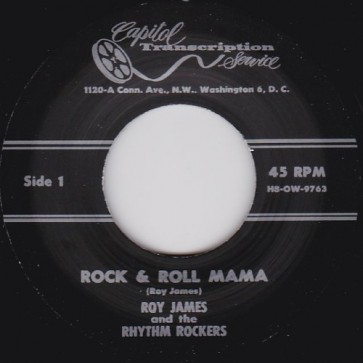 "Roy James – Rock & Roll Mama b/w I'll Always Be Happy RE 7"""