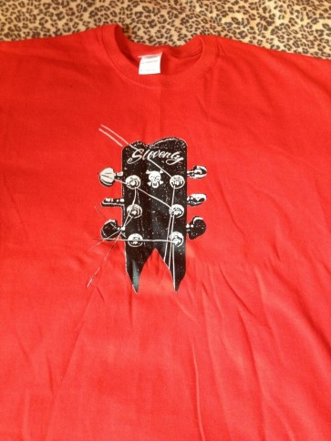 SLOVENLY RED T-SHIRT MEN'S (XL)