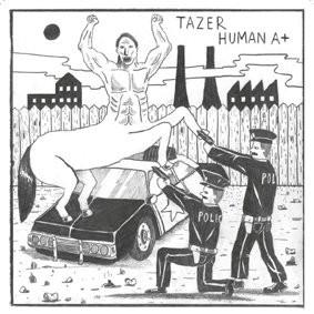 TAZER - Human A+ EP