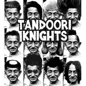 "TANDOORI KNIGHTS ""Temple of Boom"" EP"