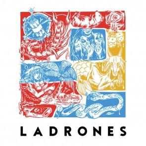 "LADRONES ""Ladrones"" LP  (CLEAR vinyl)"