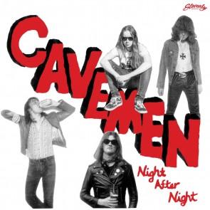 "THE CAVEMEN ""Night After Night"" LP (RED vinyl)"
