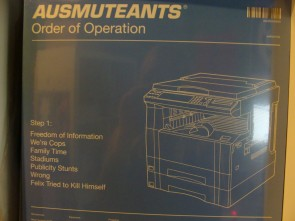 AUSMUTEANTS - Order Of Operation LP