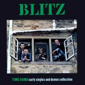 "BLITZ ""Time Bomb"" LP"