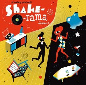 VARIOUS - Shake-O-Rama Vol. 3 LP + CD