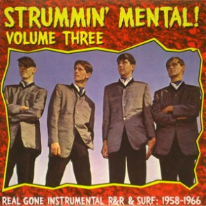 "VARIOUS ARTISTS ""Strummin' Mental Vol. 3"" LP"
