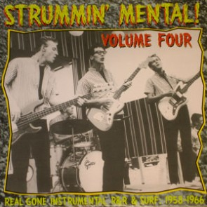 "VARIOUS ARTISTS ""Strummin' Mental Vol. 4"" LP"