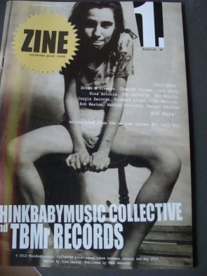 Think Baby Music Zine 1