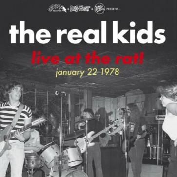 "REAL KIDS ""Live At The Rat! January 22 1978"" Gatefold LP"
