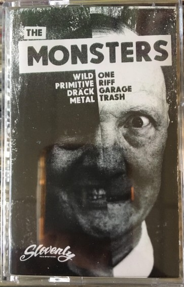 """THE MONSTERS """"The Monsters"""" CASSETTE"""