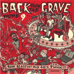 "VARIOUS ARTISTS ""Back From The Grave Volume 9"" LP (Gatefold)"