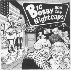 BIG BOBBY & THE NIGHTCAPS 'Not the same' EP