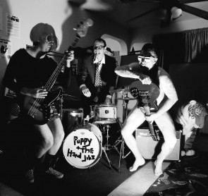 """PUPPY AND THE HAND JOBS """"I Eat Abortions"""" EP (GREEN vinyl)"""