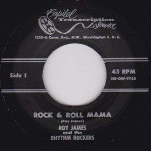 Roy James – Rock & Roll Mama b/w I'll Always Be Happy RE 7""