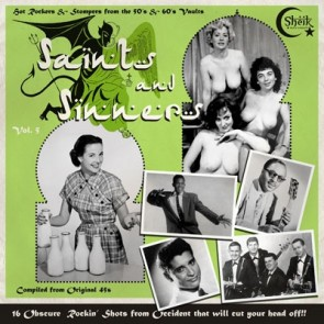 VARIOUS - Saints and Sinners Vol. 5 LP