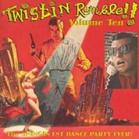 VARIOUS ARTISTS - 'Twistin' Rumble Vol.10' Lp