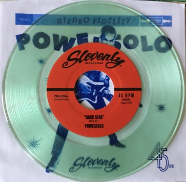 """POWERSOLO """"Transfixing Motherfucker"""" (COKE BOTTLE CLEAR vinyl) EP"""