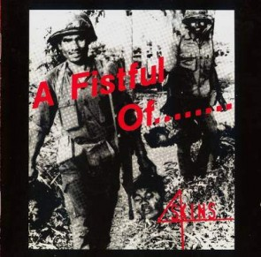 """4 SKINS """"A Fistful Of...4 Skins"""" LP"""
