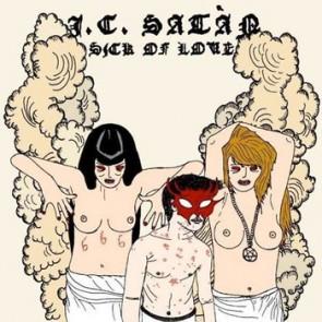 J.C. SATAN 'Sick of Love' CD