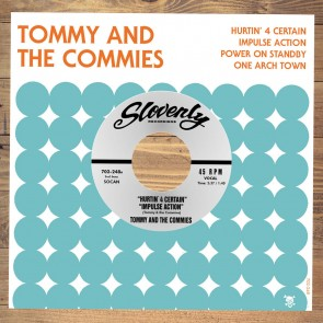 """TOMMY AND THE COMMIES """"Hurtin' 4 Certain"""" EP (WHITE vinyl)"""