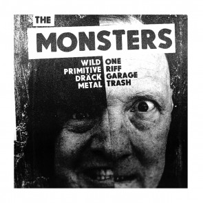 "THE MONSTERS ""I'm A Stranger To Me"" EP  (WHITE vinyl)"