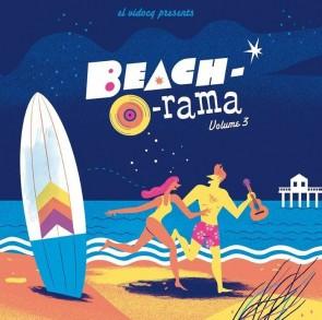 VARIOUS - Beach-O-Rama Vol.3 Lp + Cd