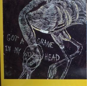 CAMARO ROUGE 'Got a plate in my head' LP