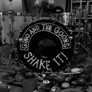 """GINO AND THE GOONS """"Shake It!"""" LP"""