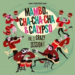 VARIOUS - Mambo, Cha-Cha-Cha & Calypso Vol. 2 LP + Cd