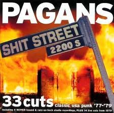 "PAGANS ""Shit Street"" LP"