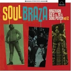 "VARIOUS ARTISTS ""Soul Braza Vol. 2"" LP"