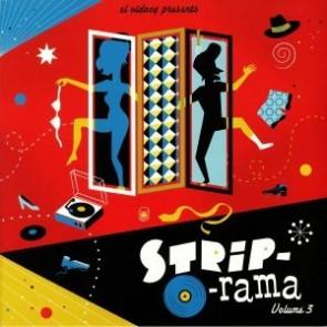 VARIOUS - Strip-O-Rama Vol. 3 Lp + Cd
