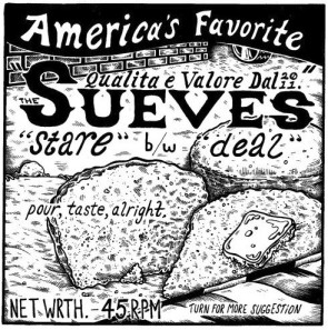 """THE SUEVES  - Stare / Deal 7"""""""