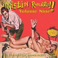 VARIOUS ARTISTS - 'Twistin' Rumble Vo. 9' Lp