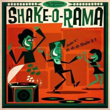 VARIOUS -  Shake-O-Rama LP + CD
