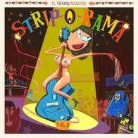 """VARIOUS -  Strip-O-Rama"""" Vol. 2 LP + CD"""