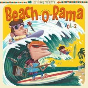 VARIOUS - Beach-O-Rama Vol. 2 LP + CD