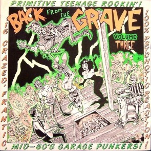 "VARIOUS ARTISTS ""Back from the Grave Vol. 3"" LP (Gatefold)"