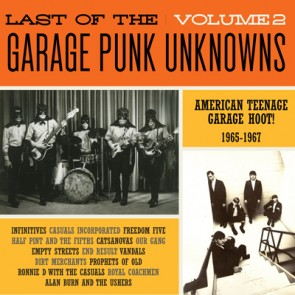 "VARIOUS ARTISTS ""The LAST Of The Garage Punk Unknowns Volume 2"" LP (Gatefold)"