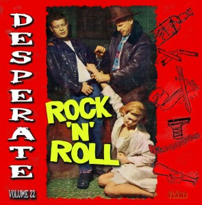 VARIOUS - Desperate Rock'N'Roll Vol. 22 LP