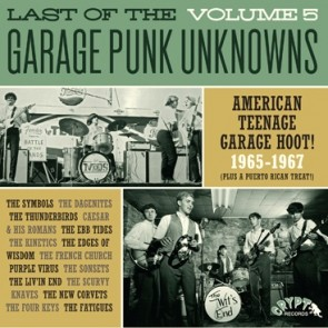 "VARIOUS ARTISTS ""Last Of The Garage Punk Unknowns Volume 5"" (Gatefold) LP"