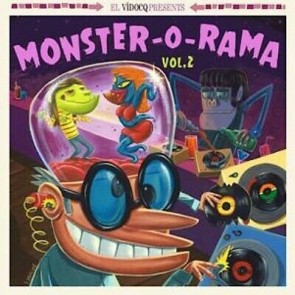 VARIOUS - MONSTER-O-RAMA Vol. 2 Lp + Cd