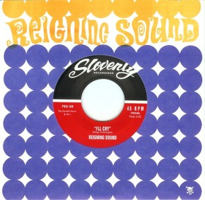 """REIGNING SOUND """"I'll Cry"""" EP (BLUE Vinyl)"""