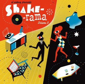 VARIOUS - Shake-O-Rama Vol. 3 LP + CD