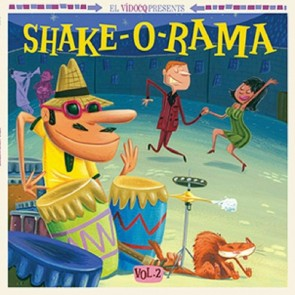 VARIOUS - Shake-O-Rama Vol. 2 LP + CD