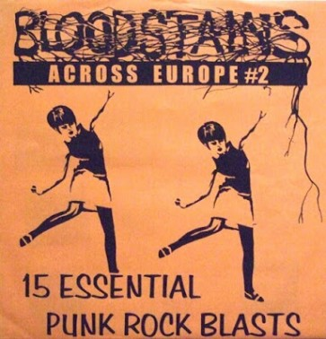 VARIOUS - Bloodstains Across Europe vol. 2 LP