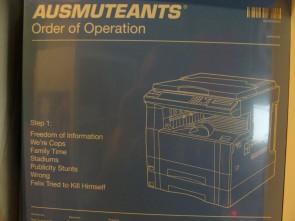 AUSMUTEANTS - Order Of Operation LP